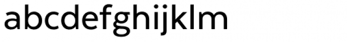 Texta Medium Font LOWERCASE