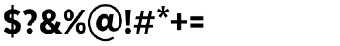 Texta Narrow Alt Heavy Font OTHER CHARS