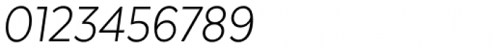Texta Narrow Alt Light Italic Font OTHER CHARS