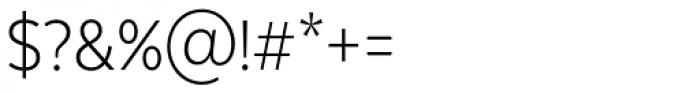 Texta Narrow Alt Light Font OTHER CHARS