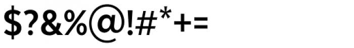 Texta Narrow Bold Font OTHER CHARS