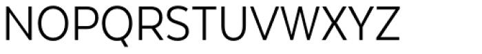 Texta Narrow Book Font UPPERCASE
