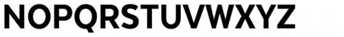 Texta Narrow Heavy Font UPPERCASE
