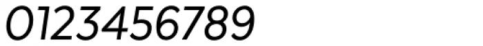 Texta Narrow Italic Font OTHER CHARS
