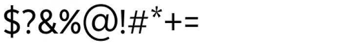 Texta Narrow Regular Font OTHER CHARS