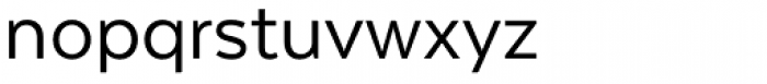 Texta Regular Font LOWERCASE