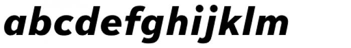 Textbook New ExtraBold Italic Font LOWERCASE