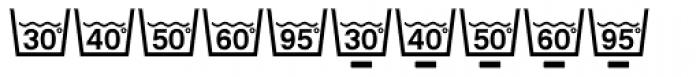 Textile LH Pi One Font UPPERCASE