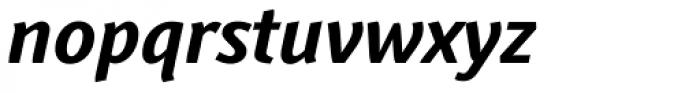 Textra Bold Italic Font LOWERCASE