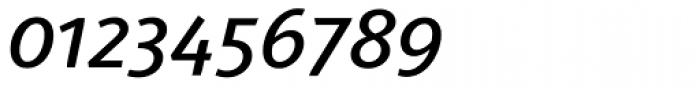 Textra Medium Italic Font OTHER CHARS