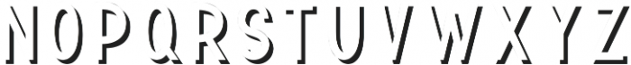 TF Continental Shadow ttf (400) Font LOWERCASE