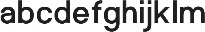 TF Opicular otf (500) Font LOWERCASE
