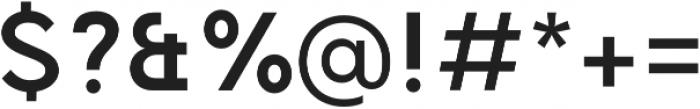 TG Aqsa Pro otf (700) Font OTHER CHARS