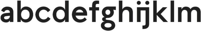 TG Aqsa Pro otf (700) Font LOWERCASE
