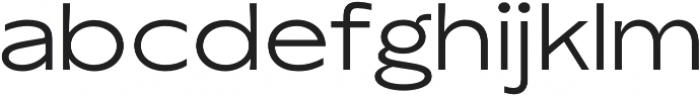 TG Axima Extended Reguler otf (400) Font LOWERCASE