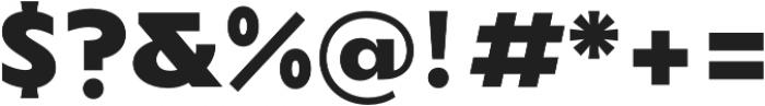 TG Axima Heavy otf (800) Font OTHER CHARS