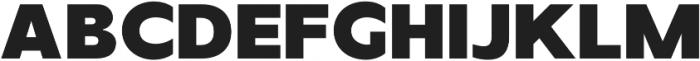 TG Axima Heavy otf (800) Font UPPERCASE