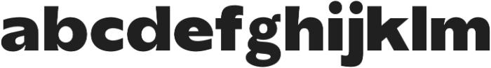 TG Axima Heavy otf (800) Font LOWERCASE