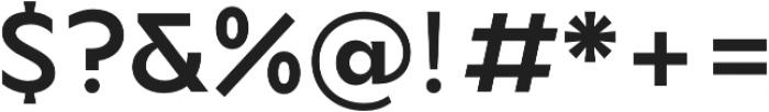TG Axima otf (700) Font OTHER CHARS