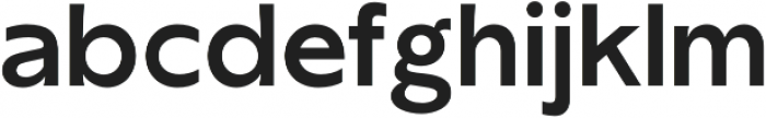 TG Axima otf (700) Font LOWERCASE
