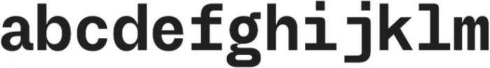 TG Frekuent Mono Bold otf (700) Font LOWERCASE