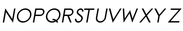 TGAlcefun-Italic Font UPPERCASE