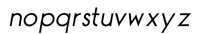 TGAlcefun-Italic Font LOWERCASE