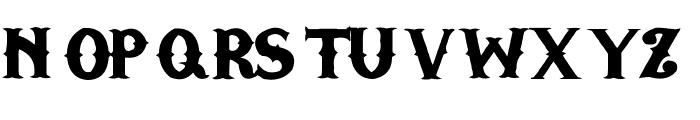 TGIFriday Font UPPERCASE