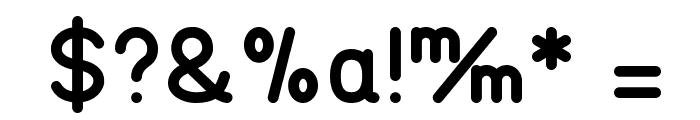TGL 0-17 Alt Font OTHER CHARS