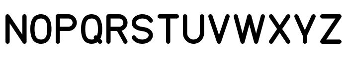 TGL 0-17 Regular Font UPPERCASE