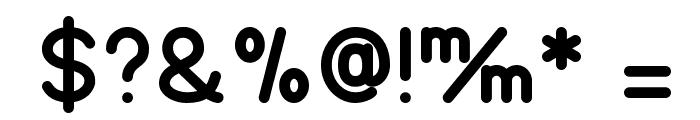 TGL 0-17 Font OTHER CHARS