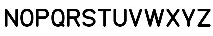 TGL 0-17 Font UPPERCASE