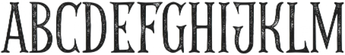 THE GOLDEN AGE ROUGH 01 otf (400) Font UPPERCASE