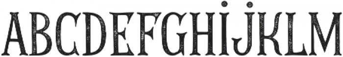 THE GOLDEN AGE ROUGH 01 otf (400) Font LOWERCASE