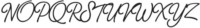 Thang Medium otf (500) Font UPPERCASE