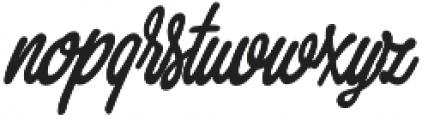 Thang Medium otf (500) Font LOWERCASE