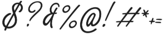 Thang Regular otf (400) Font OTHER CHARS