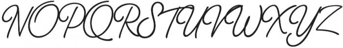 Thang Regular otf (400) Font UPPERCASE