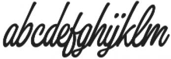 Thang Regular otf (400) Font LOWERCASE
