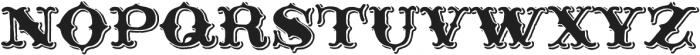 Thankful Display Shadow otf (400) Font LOWERCASE