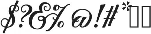 Thankful Script ttf (400) Font OTHER CHARS