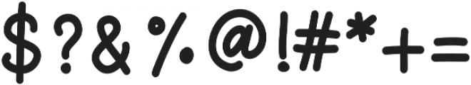 That Girl Sans otf (400) Font OTHER CHARS