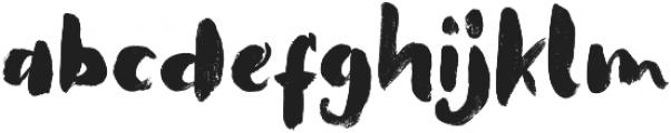 That Lembuts otf (400) Font LOWERCASE