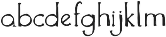The Anomali otf (400) Font LOWERCASE
