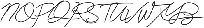 The Bad Weather ttf (400) Font UPPERCASE