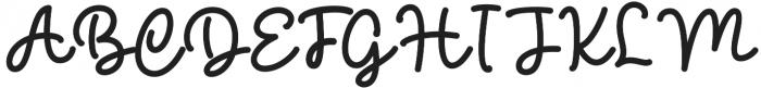 The Beaner Font 4 otf (400) Font UPPERCASE