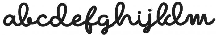 The Beaner Font 4 otf (400) Font LOWERCASE
