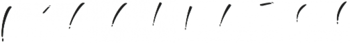 The Beaner Font 7 otf (400) Font OTHER CHARS