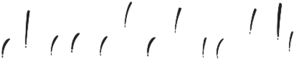 The Beaner Font 7 otf (400) Font LOWERCASE