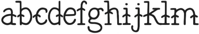 The Bearded Sailor otf (400) Font LOWERCASE